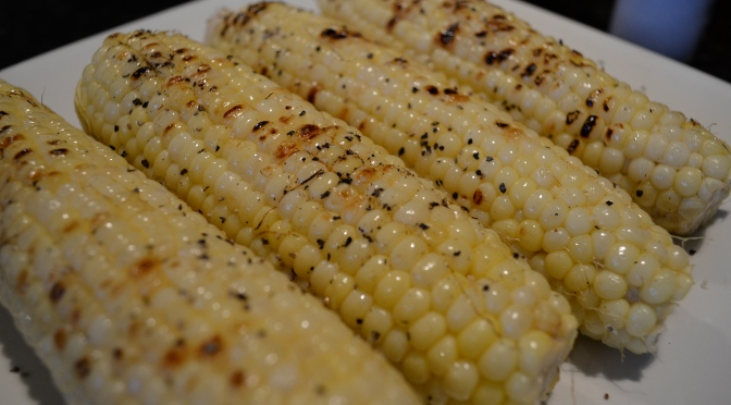 Straight to the point grilled corn